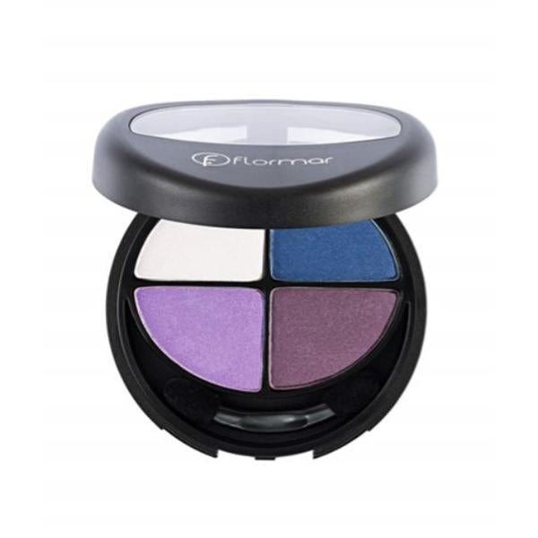 Flormar Quartet Eyeshadow (411 Purple Look) - 12g