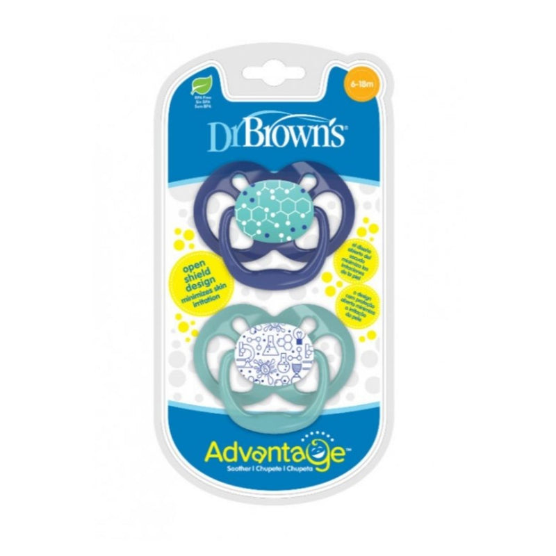 Dr, Brown´s Advantage Chupeta 6-18m - 2 Unidades