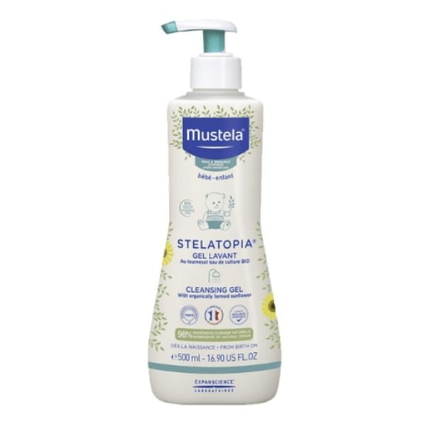 Mustela Stelatopia Gel Lavante - 500ml