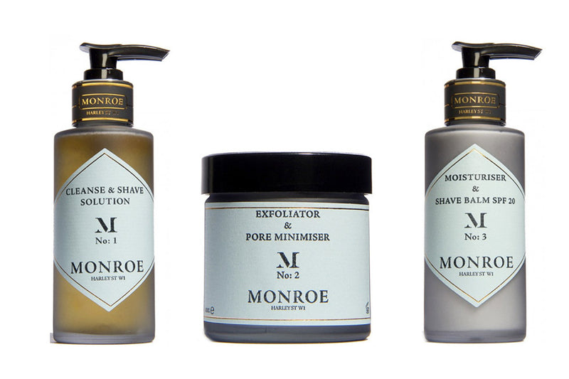 New In: Monroe of London Men's Skincare Range
