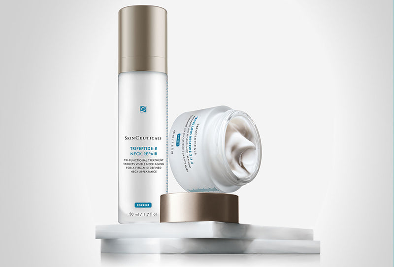 Use These Two SkinCeuticals Products To Combat Neck Ageing
