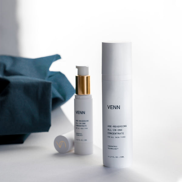 Bottle of VENN Skincare Age Reversing All In One Concentrate