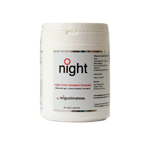 Miguel Mateas Night Formula Advanced Nutritional Complex