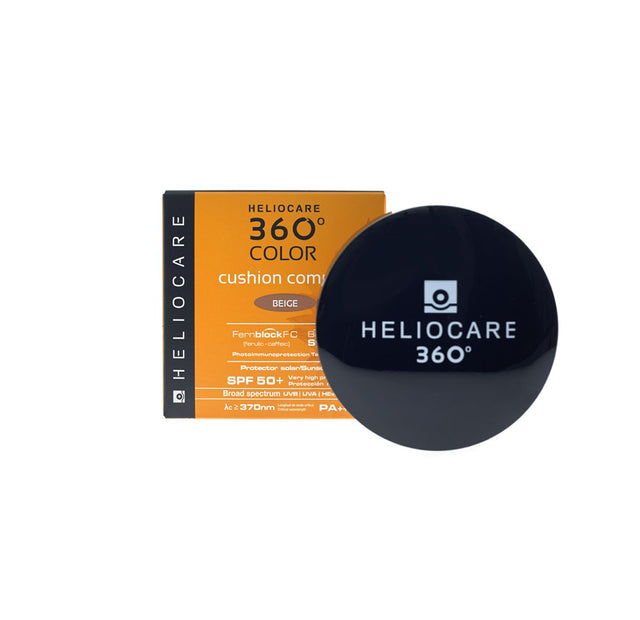 Heliocare 360 Color Cushion Compact SPF50+ - Beige - CLEARANCE