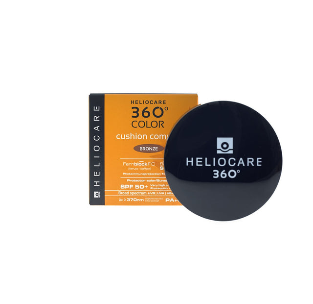 Heliocare 360 Color Cushion Compact SPF50+ - Bronze - CLEARANCE