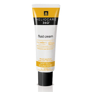 Heliocare 360 Fluid Cream SPF 50+ - CLEARANCE