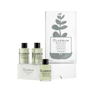 Olverum Bath Oil Travel Set