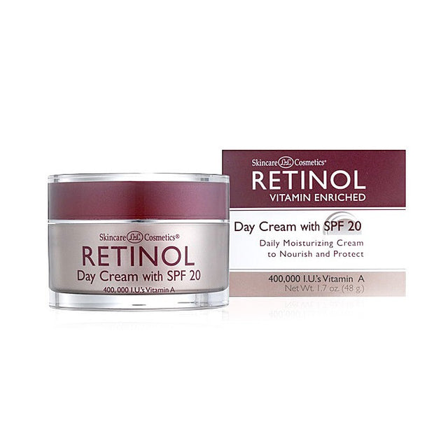 Skincare Cosmetics Retinol Vitamin A Day Cream SPF 20