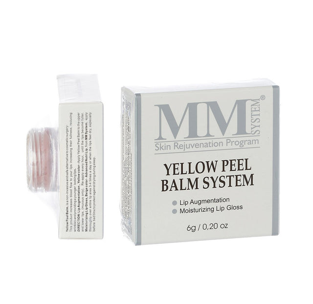 Mene & Moy Yellow Peel Lip Balm