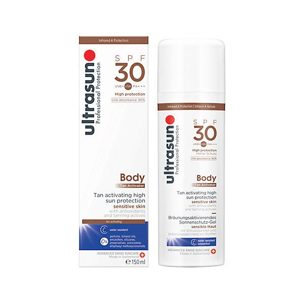 Ultrasun Body Tan Activator SPF 30 - 150ml