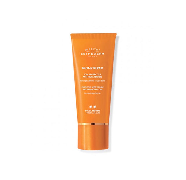 Institut Esthederm Bronz Repair Face Cream Moderate Sun