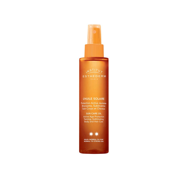 Institut Esthederm Sun Care Oil Body and Hair Moderate Sun