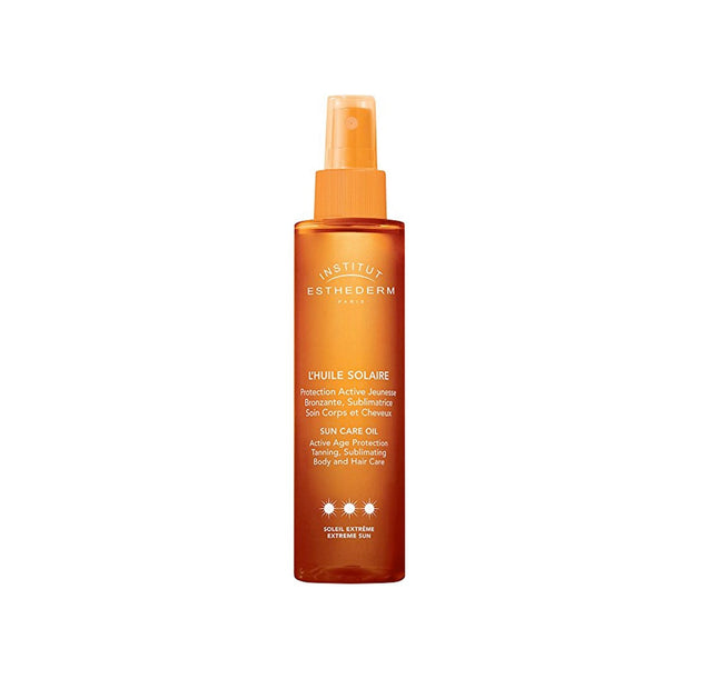 Institut Esthederm Sun Care Oil Body and Hair Strong Sun