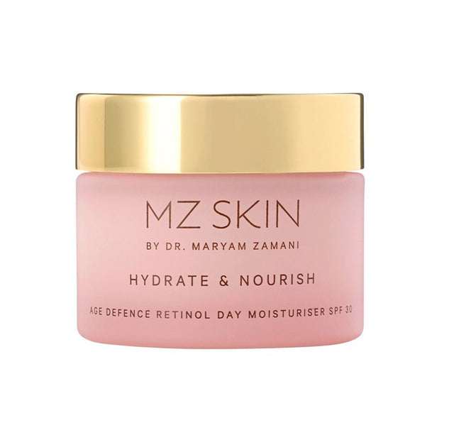MZ Skin Hydrate and Nourish Age Defence Retinol Day Moisturiser SPF 30