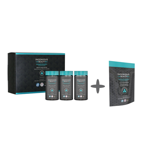 Ingenious Beauty Ultimate Collagen+ Second Generation Gift Box Bundle 360 Capsules