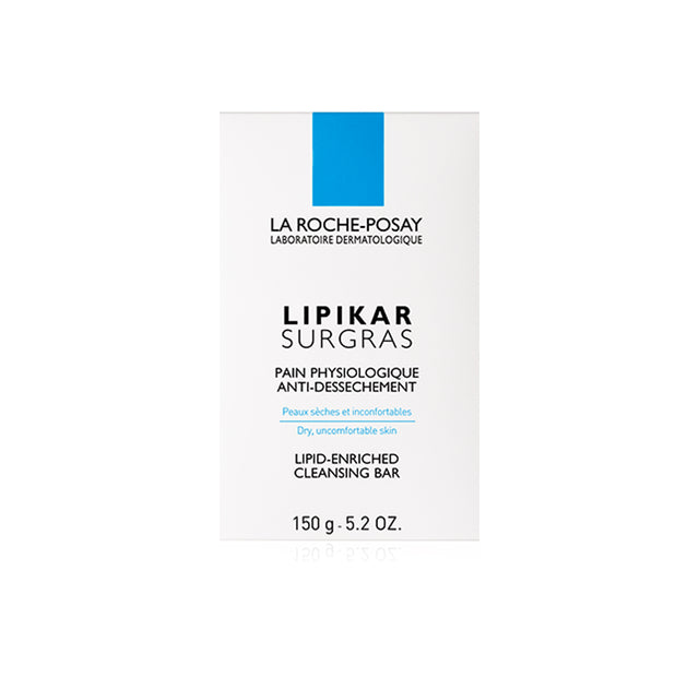 La Roche-Posay Lipikar Surgras Lipid-Enriched Cleansing Bar