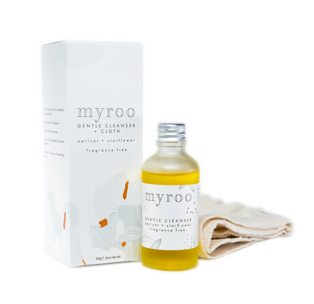 MyRoo Gentle Cleanser and Cloth Fragrance Free