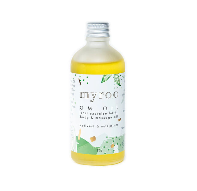 MyRoo OM Oil Post Exercise Bath, Body and Massage Oil