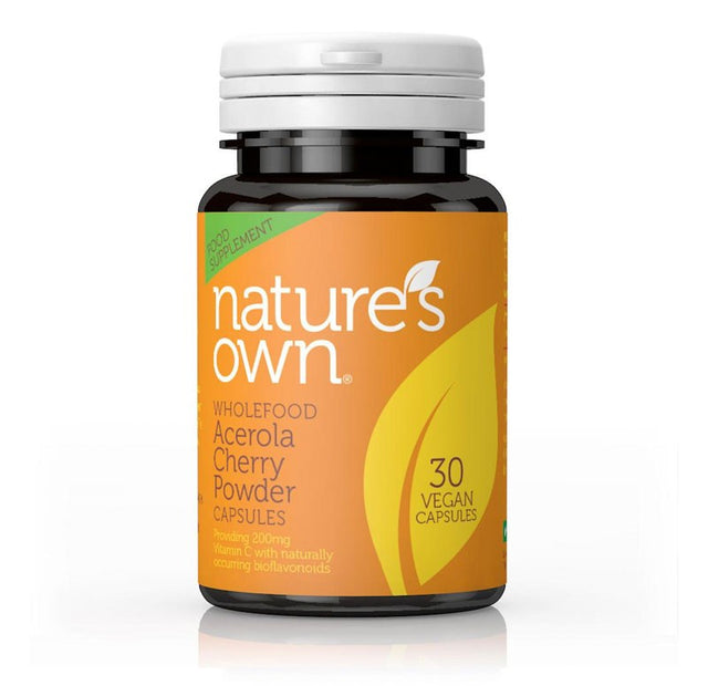 Nature's Own Acerola Cherry 30 Capsules