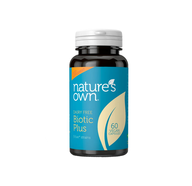 Nature's Own Biotic Plus 60 Capsules