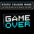 8Bit Pixel Game Over Light Color Changing Sound Reactive Lamp Gaming Visit the Paladone Store