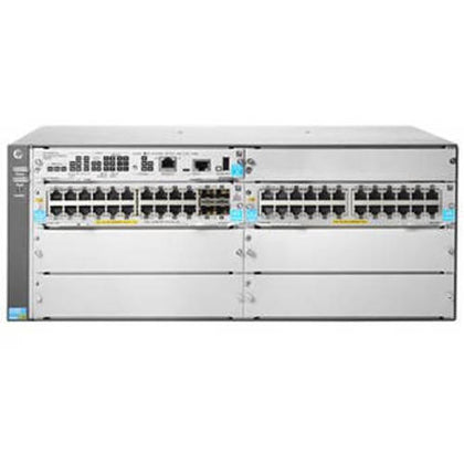 Aruba HPE 44-Port 5406R 44GT PoE+ / 4SFP+ v3 zl2 Switch (No PSU) Switches Aruba