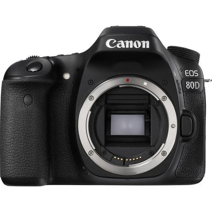 Canon EOS 80D 24.2 Megapixel Digital SLR Camera Body Only - Black Cameras & Optics Canon, Inc