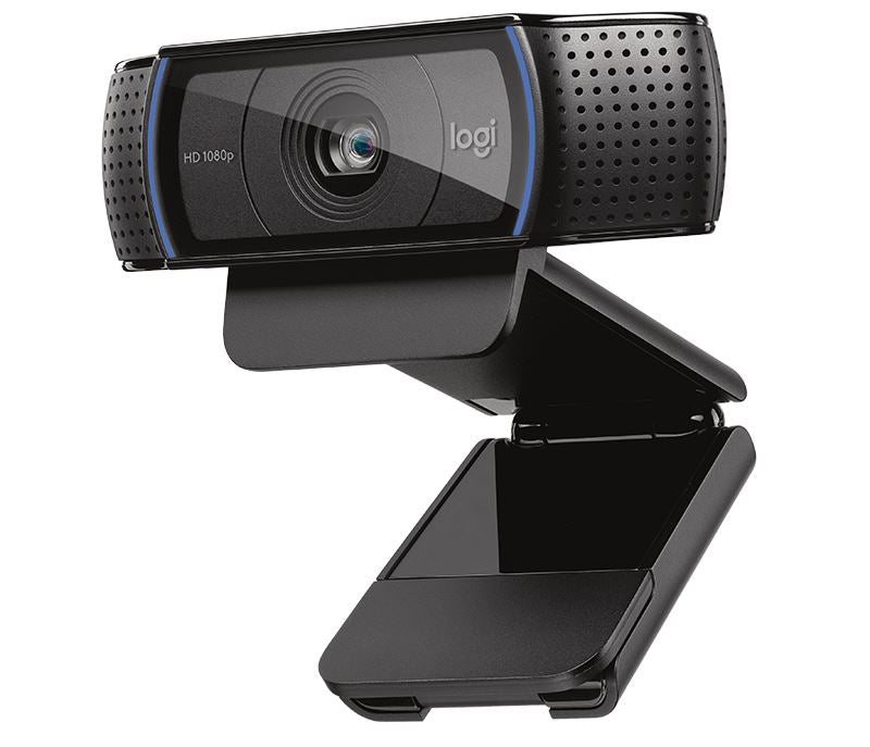 Logitech C920 HD PRO WEBCAM Full HD 1080p Video Calling with Stereo Audio Webcam Logitech