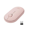 Logitech Pebble M350 Wireless Mouse with Bluetooth and USB with Quiet Click Accessories Visit the Logitech Store Rose