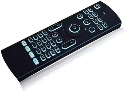 Mx3 2.4G Wireless Remote Control Keyboard Air Mouse Backlit Audio & Video Newtech