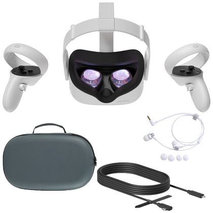 Oculus Quest 2 All-In-One VR Headset 64GB SSD 1832x1920 up to 90 Hz Refresh Rate LCD Gaming Headset Oculus