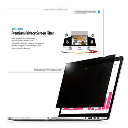 WELINC 21 Inch - 16:10 Aspect Ratio - Computer Privacy Screen Filter for Widescreen Monitor WELINC