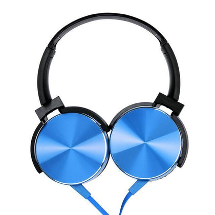 Wired headset Headphones Newtech Blue
