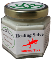 Reptanicals Tattered Toes first aid wound treatment for damages extremities