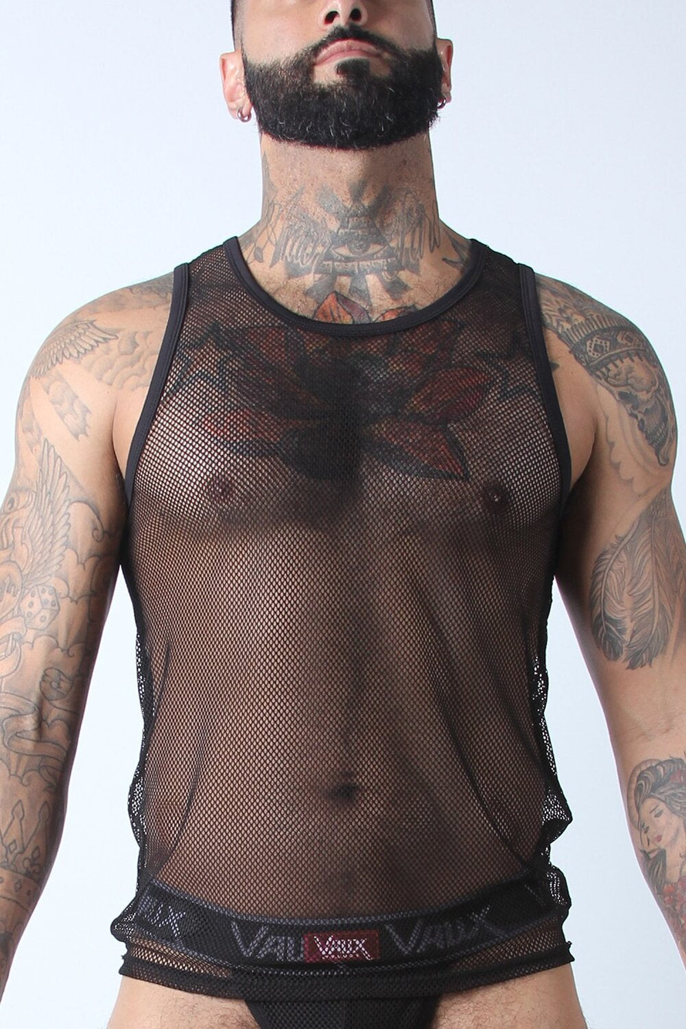 Mesh Tank Top by Vaux