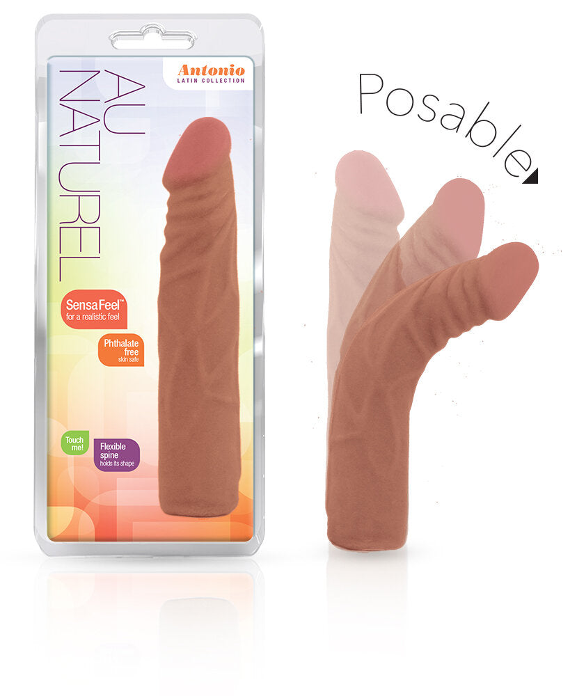Au Natural Antonio 7.5in Latin Dildo