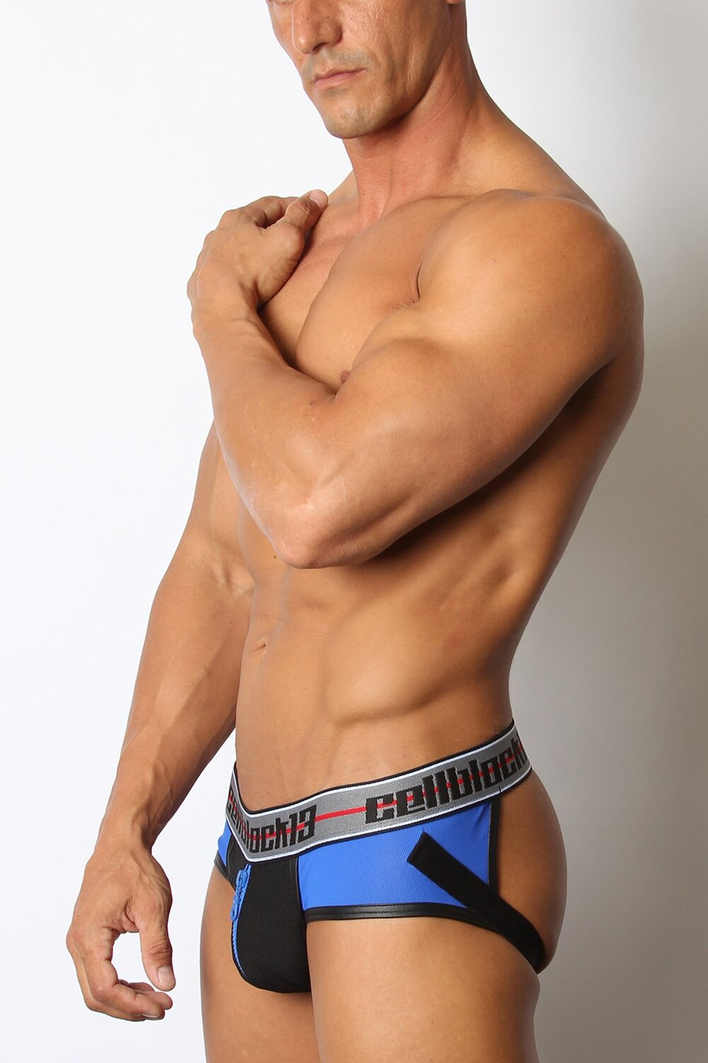 Moto X Zipper Jockstrap by Cellblock13
