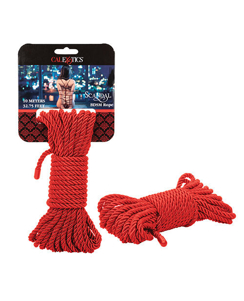 Scandal BDSM Rope Red