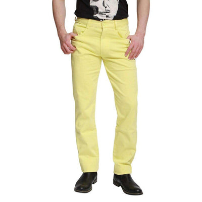 Peviani Regular Fit Smart Pale Yellow Chino Trouser