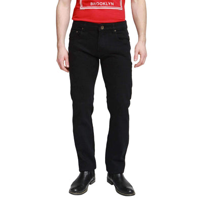 Black Georgio Peviani Comfort Fit Jeans