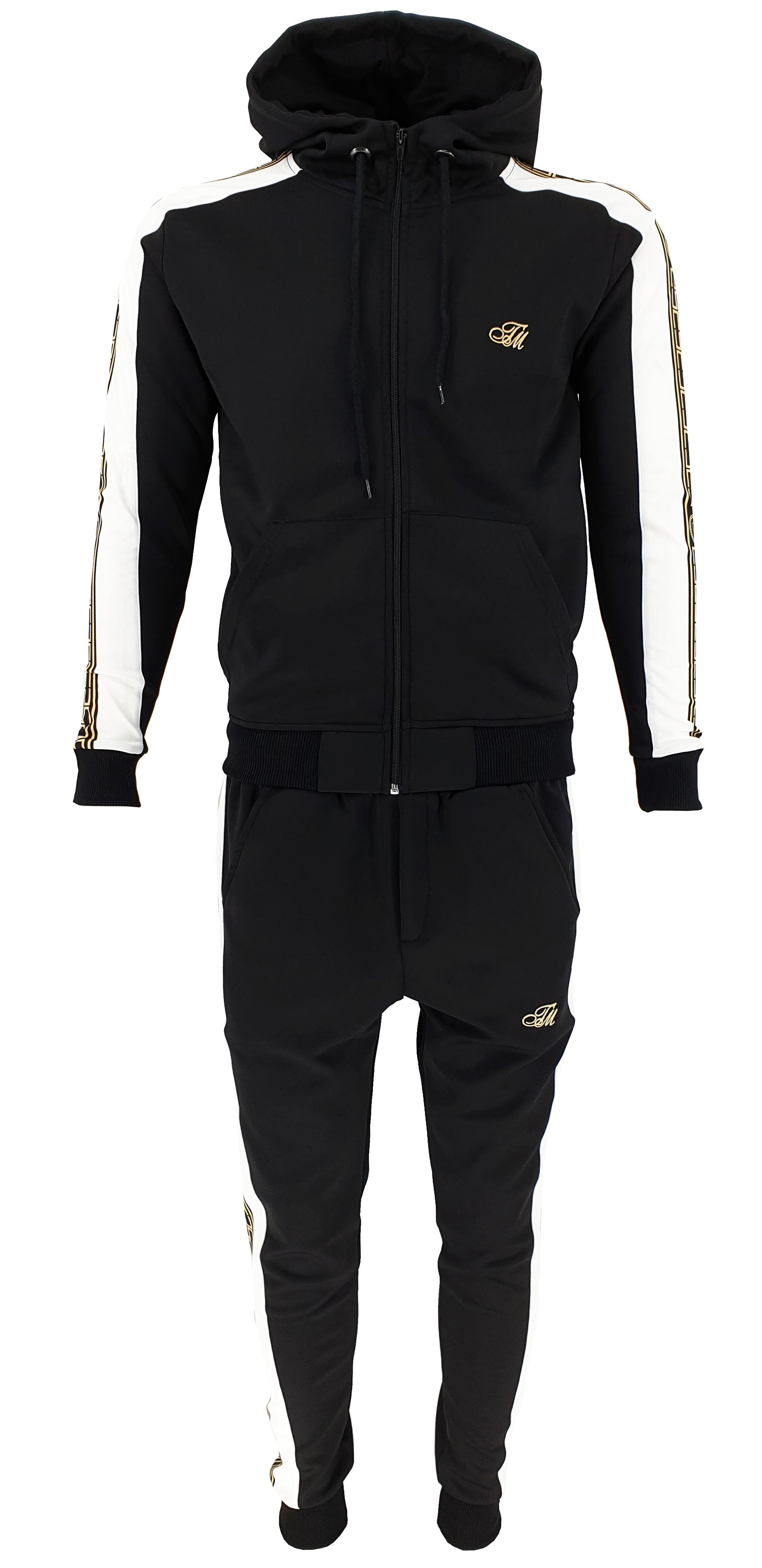 Black Matching Tracksuit