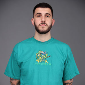 Harris Dragon Tee Jade