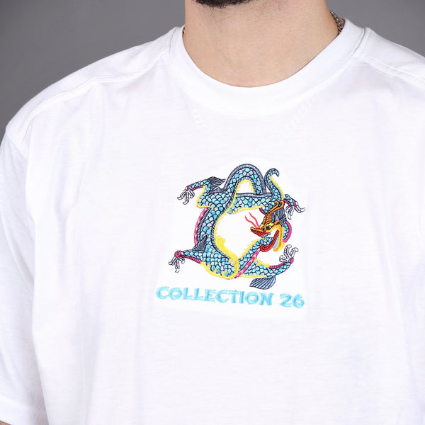 Lewis Dragon Tee White