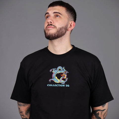 Lewis Dragon Tee Black