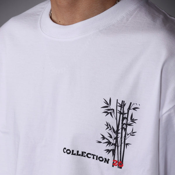 Bamboo Tee White - 10% OFF