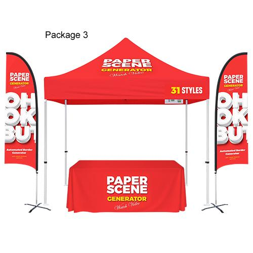 10'x10' Custom Tent Packages #3