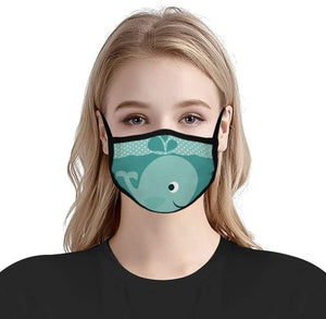 Custom Printed Masks (Dye-Sublimated) Elastic Ear Loop