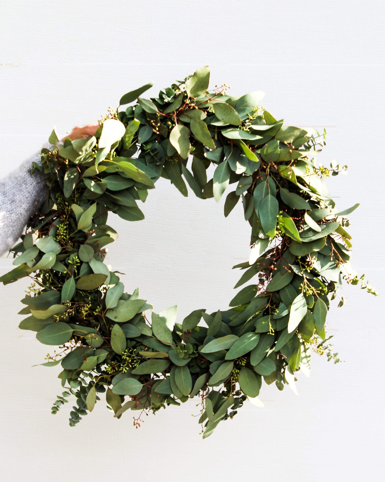 The Eucalyptus Festive Wreath Flowers