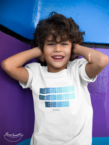 """Little Riders Crew"" Boy T-Shirt 100% Organic Cotton - Sweet Banana Riders"