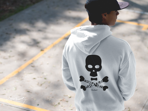"""Skater from Hell"" Man Sweatshirt Organic Cotton & Recycled Polyester - Sweet Banana Riders"